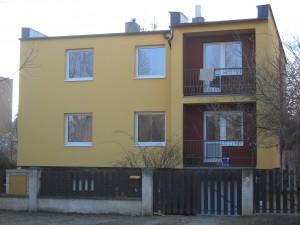 Rekonstrukce domu Roztoky u Prahy